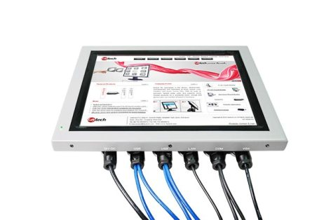 5Inch IP65 Capacitive Multi Touch PC High Brightness